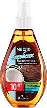 Düfte, Parfümerie und Kosmetik Hawaiian Bräunungsöl mit Betakaroten und Sheabutter SPF 10 - Floresan