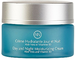 Düfte, Parfümerie und Kosmetik Feuchtigkeitsspendende Gesichtscreme mit Aloe Vera und Vitamin B3 - Innossence Innosource Moisturizing Cream Day And Night