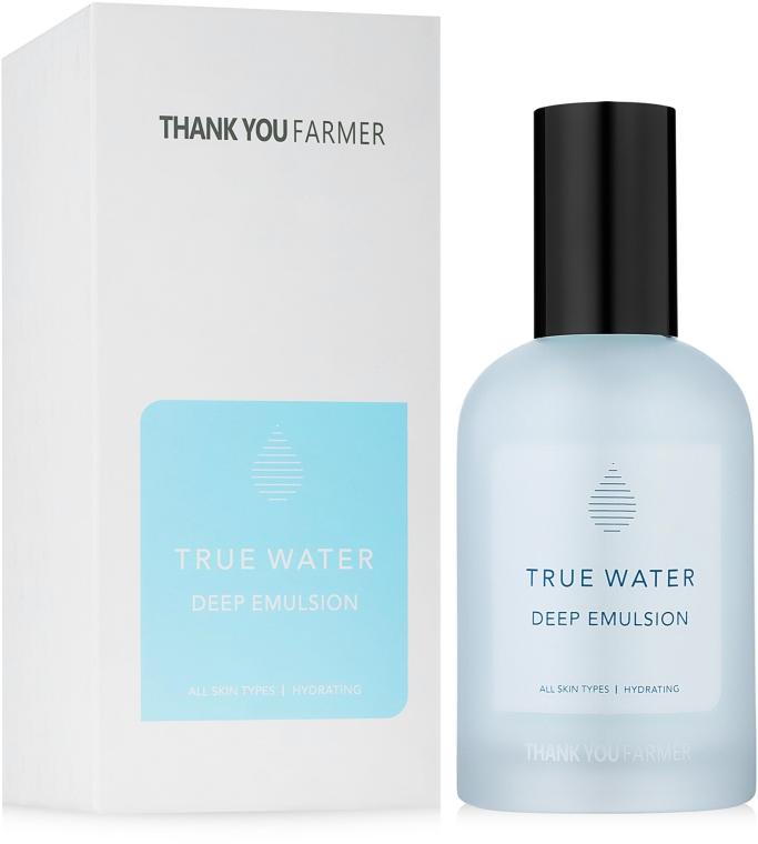 Tief feuchtigkeitsspendende Gesichtsemulsion für alle Hauttypen - Thank You Farmer True Water Deep Emulsion