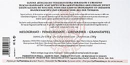 """Seifen-Set """"Granatapfel"""" 3 St. - La Florentina Pomegranate Soap — Bild N3"""