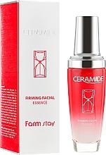 Düfte, Parfümerie und Kosmetik Feuchtigkeitsspendende und straffende Gesichtsessenz mit Ceramiden - FarmStay Ceramide Firming Facial Essence