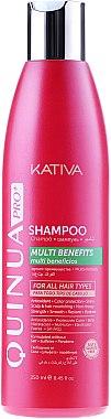 Farbschutz-Shampoo für coloriertes Haar - Kativa Quinua PRO Shampoo — Bild N1