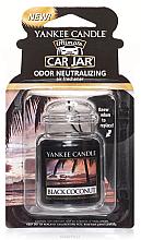 Düfte, Parfümerie und Kosmetik Auto-Lufterfrischer - Yankee Candle Car Jar Ultimate Black Coconut