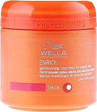 Düfte, Parfümerie und Kosmetik Pflegende und feuchtigkeitsspendende Maske für widerspenstiges Haar - Wella Professionals Enrich Moisturizing Treatment