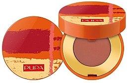 Düfte, Parfümerie und Kosmetik Mattierender Lidschatten - Pupa Summer Escape Intense Shadow