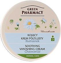 Düfte, Parfümerie und Kosmetik Gesichtscreme mit Kamille - Green Pharmacy Soothing Vanishing Cream