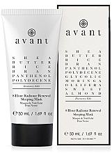 Düfte, Parfümerie und Kosmetik Regenerierende Nachtmaske für das Gesicht - Avant Discovery Edit - 8 hour Radiance Renewal Sleeping Mask