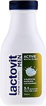 3in1 Revitalisierendes Duschgel für Männer - Lactovit Men Active 3v1 Shower Gel — Bild N1