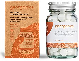 Düfte, Parfümerie und Kosmetik Zahnreinigungstabletten-Orange - Georganics Natural Toothtablets Orange