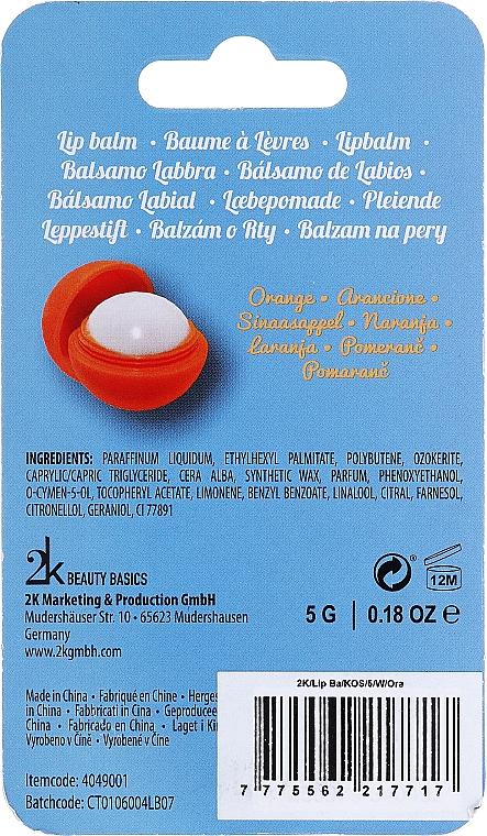 Lippenbalsam mit Orangengeschmack - Cosmetic 2K Luminous Orange Lip Gloss — Bild N2