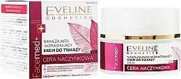Düfte, Parfümerie und Kosmetik Feuchtigkeitsspendende und stärkende Gesichtscreme mit Presielbeere LSF 10 - Eveline Cosmetics Facemed+ Face Cream