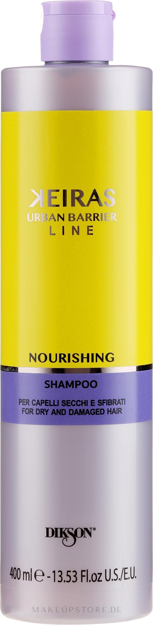 Pflegendes Shampoo - Dikson Keiras Nourishing Shampoo — Bild 400 ml