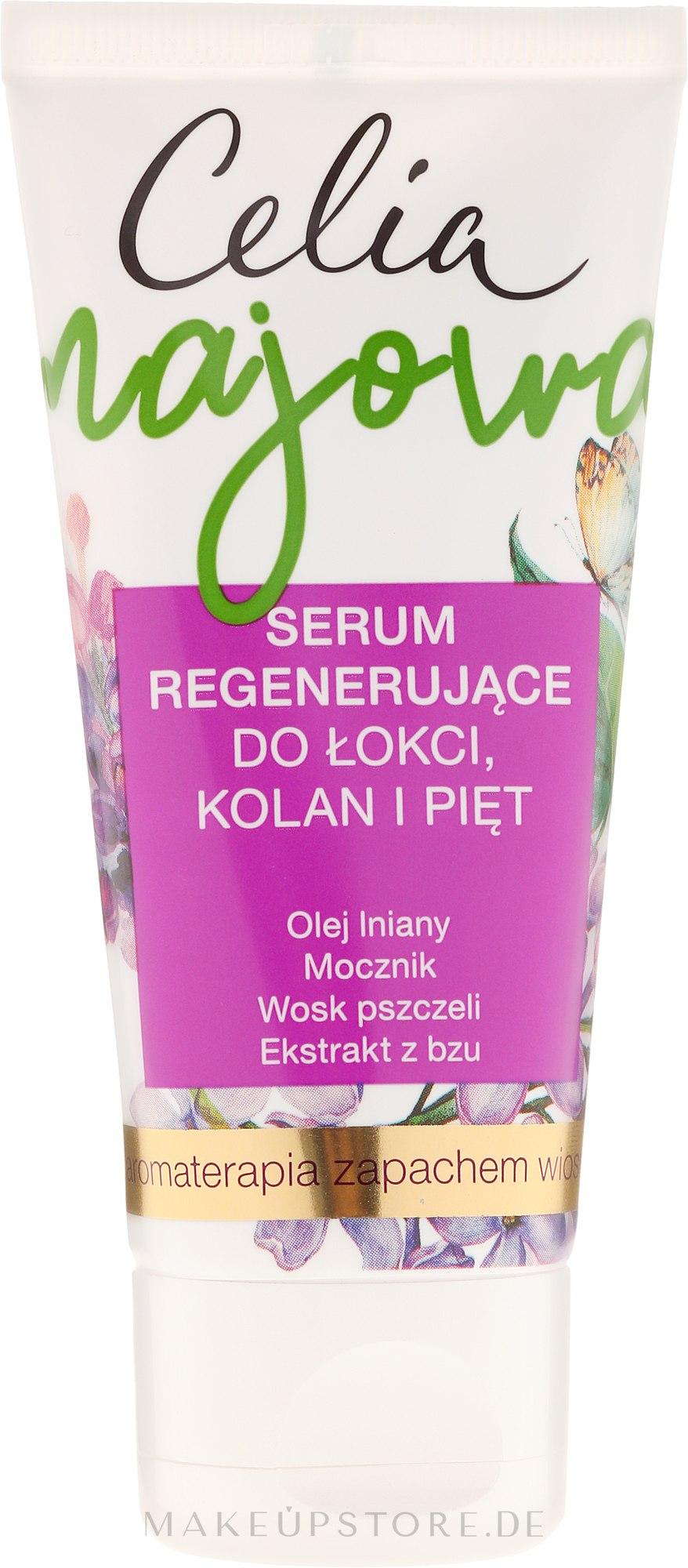 Regenerierendes Serum für Ellenbogen, Knien und Fersen - Celia Majowa — Bild 60 ml