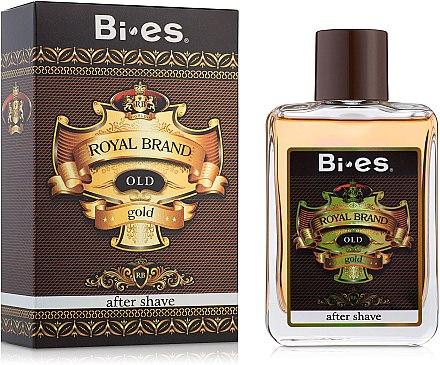 Bi-Es Royal Brand Gold - After Shave — Bild N1