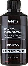 Düfte, Parfümerie und Kosmetik Erfrischendes Shampoo mit Kirschblüten - Kundal Honey & Macadamia Cherry Blossom Shampoo