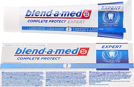 Zahnpasta Complete Protect Expert Professional Protection - Blend-a-med Complete Protect Expert Professional Protection Toothpaste — Bild N1