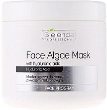 Düfte, Parfümerie und Kosmetik Gesichtsmaske mit Hyaluronsäure - Bielenda Professional Face Algae Mask with Hyaluronic Acid