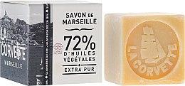 Düfte, Parfümerie und Kosmetik Hypoallergene Naturseife Extra Pur - La Corvette Savon de Marseille Extra Pure Box Cube Soap