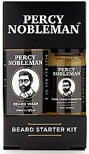 Düfte, Parfümerie und Kosmetik Gesichtspflegeset für Männer - Percy Nobleman Beard Starter Kit (Bartshampoo 30ml + Bartöl 10ml)