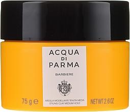 Düfte, Parfümerie und Kosmetik Modellierende Tonerde für das Haar Mittlerer Halt - Acqua Di Parma Barbiere The Styling Clay Medium Hold