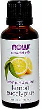 Düfte, Parfümerie und Kosmetik 100% Reines ätherisches Zitronen- und Eukalyptusöl - Now Foods Essential Oils 100% Pure Lemon Eucalyptus