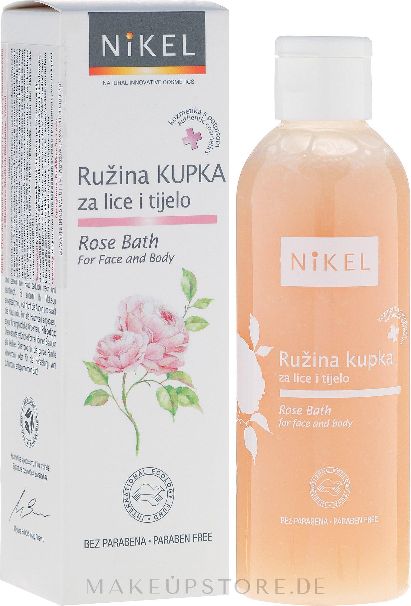 Badeschaum - Nikel Rose Bath — Bild 200 ml