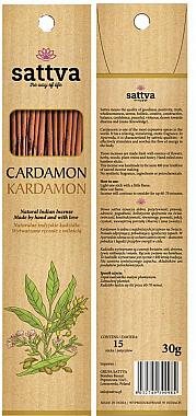 Räucherstäbchen Kardamon - Sattva Kardamon Incense Sticks — Bild N1