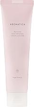 Düfte, Parfümerie und Kosmetik Gesichtsschaum mit ätherischem Rosenöl - Aromatica Rose Absolute Cream Cleanser