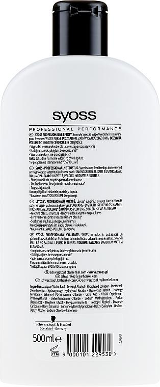 Haarspülung für feines, plattes Haar - Syoss Volume Lift — Bild N2