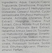 Feuchtigkeitsspendende Gesichtsgel-Creme mit Fruchtextrakten - Isabelle Lancray Vitamina Fruity Creamy Gel — Bild N5
