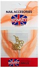 Düfte, Parfümerie und Kosmetik Nageldekoration Goldkette 00375 - Ronney Professional