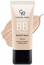 Düfte, Parfümerie und Kosmetik BB Creme für einen perfekten Teint mit LSF 25 - Golden Rose BB Cream Beauty Balm
