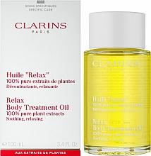 Beruhigendes und enspannendes Körperöl mit 100% Pflanzenextrakten - Clarins Body Treatment Oil Relax — Bild N2