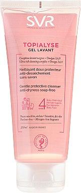 Reinigungsgel für Körper, Gesicht und Haare für die ganze Familie - SVR Topialyse Gel Lavant — Bild N1