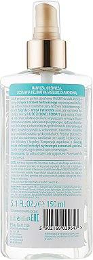 Feuchtikeitsspendendes Körperspray mit ätherischem Öl aus grünem Tee und Gardenie - Bielenda Tropic Vibes — Bild N2