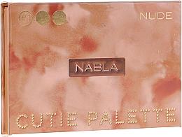 Düfte, Parfümerie und Kosmetik Lidschattenpalette - Nabla Cutie Collection Palette Nude