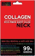 Düfte, Parfümerie und Kosmetik Zellerneuernde Anti-Aging Tuchmaske für den Hals mit Meereskollagen 30+ - Beauty Face IST Skin Cell Reneval & Anti Age Neck Mask Marine Collagen