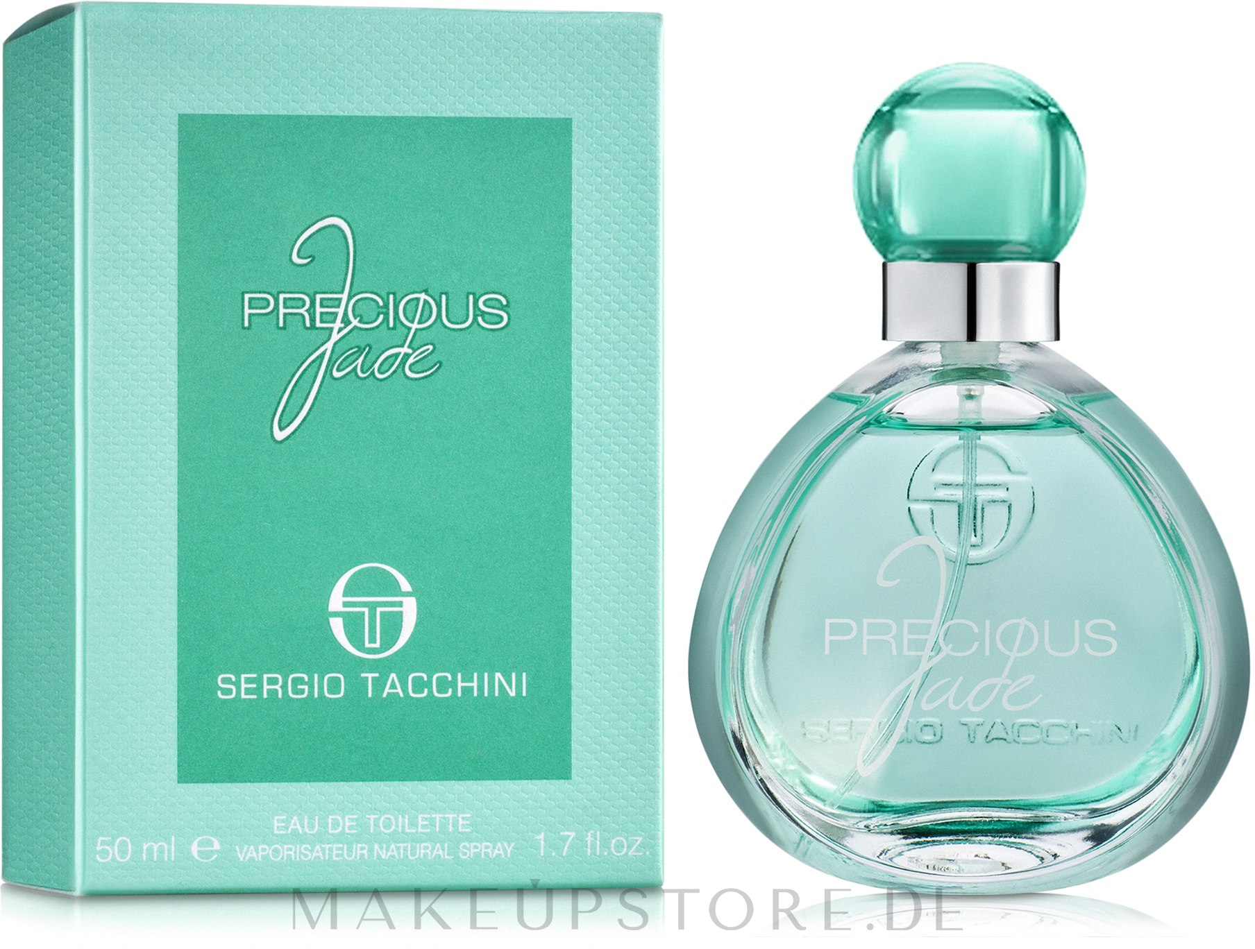Sergio Tacchini Precious Jade - Eau de Toilette — Bild 50 ml