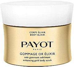 Düfte, Parfümerie und Kosmetik Goldenes Körperpeeling für gepflegte, glatte und strahlende Haut - Payot Corps Elixir Gommage Or Elixir