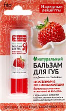 """Düfte, Parfümerie und Kosmetik Lippenbalsam """"Erdbeere mit Sahne"""" - Fito Kosmetik Volksrezepte"""