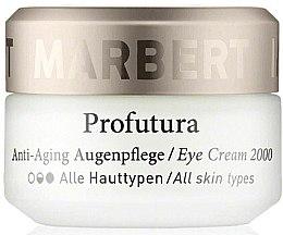 Düfte, Parfümerie und Kosmetik Anti-Aging Augenpflege - Marbert Profutura Anti-Aging Eye Care Eye Cream 2000
