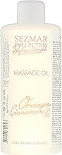 Düfte, Parfümerie und Kosmetik Massageöl Orange und Zimt - Hristina Cosmetics Sezmar Professional Massage Oil Orange&Cinnamon