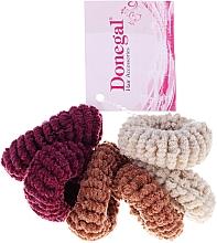 Düfte, Parfümerie und Kosmetik Haargummis Farb-Mix 6 St. FA-5828 - Donegal