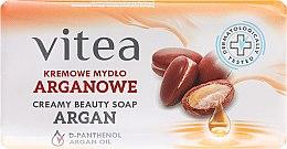 Düfte, Parfümerie und Kosmetik Seife mit Arganöl - Vitea Cream Argan Soap