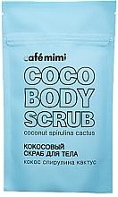 Düfte, Parfümerie und Kosmetik Körperpeeling mit Kokosnuss, Spirulina und Kaktus - Cafe Mimi Coco Body Scrub Coconut Spirulina Cactus