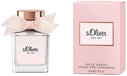 Düfte, Parfümerie und Kosmetik S.Oliver For Her - Eau de Toilette