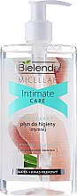 Düfte, Parfümerie und Kosmetik Mizellen-Waschgel für die Intimhygiene mit Aloe und Milchhefe - Bielenda Micellar Intimate Care