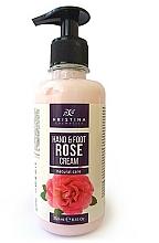 Düfte, Parfümerie und Kosmetik Hand- und Fußcreme mit bulgarischem Rosenöl - Hristina Cosmetics Hand & Foot Cream With Bulgarian Rose
