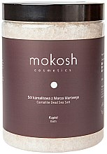 Düfte, Parfümerie und Kosmetik Totes Meer Badesalz - Mokosh Cosmetics Dead Sea Bath Salt