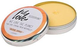 Düfte, Parfümerie und Kosmetik Natürliche Deo-Creme Original Orange - We Love The Planet Deodorant Original Orange